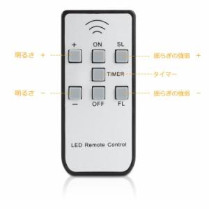 LEDキャンドルライト 6個セット リモコン付き