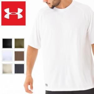 017c1841 アンダーアーマー ヒートギア メンズ半袖Tシャツ UNDER ARMOUR HEAT GEAR Tactical Tech Short Sleeve T -Shirt