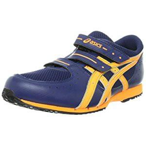 アシックス asics 消防操法用靴GEL119,R,III ネイビーブルー 24.5cm