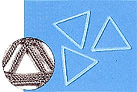 手芸&手あみ用【ニットリング三角 30ミリ】ハマナカ手芸用副資材M便[1/6]