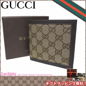 4c8b89bf4514 グッチ アウトレット GUCCI 150413 GGキャンバス 二つ折り財布(小銭入れ有り) GG柄