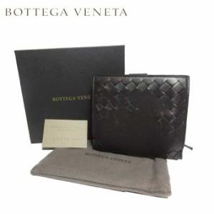 af8dd92323d2 ボッテガヴェネタ BOTTEGA VENETA 121059-VCK81-2073 イントレチャート レザー 両開き財布 ダークブロンズ