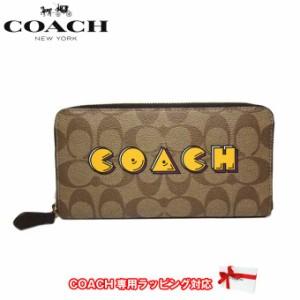 c47bcdfd448979 コーチ アウトレット COACH 財布 F75614 PVC シグネチャー × パックマン ロゴ