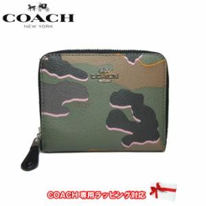 745cd03a406a コーチ アウトレット COACH 財布 F32155 PVC ワイルド カモフラージュ / 迷彩柄 スモール ジップ アラウンド ウォレット /