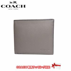 f0ee4b931610 コーチ アウトレット COACH 財布 F75084 ダブル ビルフォード スポーツ カーフ 二つ折り財布(小銭入れ