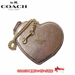 4e02b980e9ab コーチ アウトレット COACH 財布 F39068 メタリック レザー ハート コインケース IMB7M(ローズゴールド)【