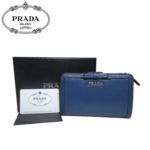 d12224d65352 プラダ アウトレット PRADA 財布 1ML225 型押しレザー リボン L字ファスナー 両開き財布 VITELLO MOVE