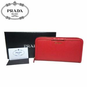 bd97bad2258e プラダ アウトレット PRADA 財布 1ML506 リボンモチーフ 型押しレザー
