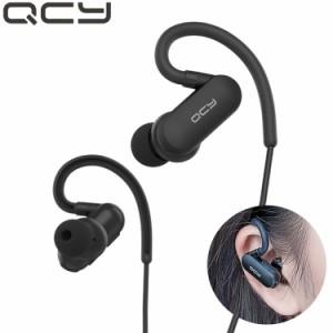 98b6e7d869 QCY QY31 Bluetooth イヤホン 高音質 ワイヤレスイヤホン 耳掛け式 ブルートゥース イヤホン スポーツ IP64 防水