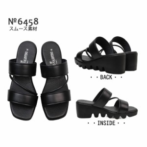 日本製 LUCIANO VALENTINO ITALY コンフォートサンダル レディース ミセス 靴 ミュール 美脚 歩きやすい lucianovalentino