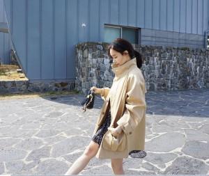 オーバーサイズ☆カジュアル ジャケット カバーオール ライトコート