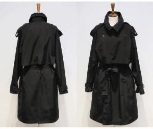 オーバーサイズ☆ロング ジャケットコート ライトコート トレンチコート