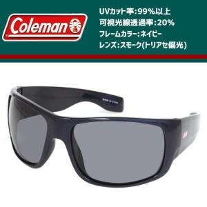 Coleman(コールマン) フローティング 偏光サングラス CFL03-1 ネイビー