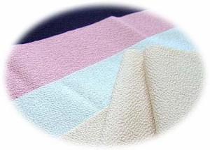 送料無料 色半衿(無地) なでしこ 洗える ポリエステル ちりめん 縮緬 長襦袢 着付け 和装小物 普段着 着物 正装 フォーマル カジュアル