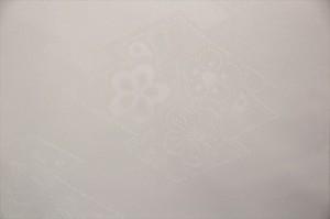 送料無料 加藤萬謹製 帯揚げ礼装用 白(花)みふじブランド 礼装用 婚礼用 黒留袖 色留袖 白帯揚げ 和装小物 着付け小物 帯あげ メール便