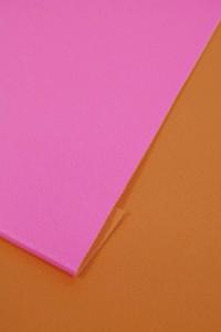 京都・西陣 日本製シンプル2色 浴衣帯 作り帯 結び帯 黄×ピンク 付帯 レディース 女性用
