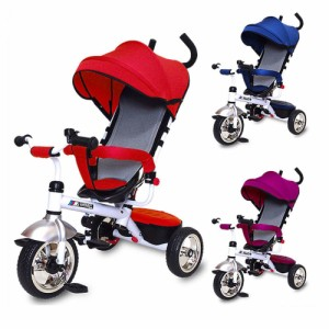 """""""JTC(ジェーティーシー) ベビー用品 3 in 1 Tricycle かじとり三輪車【同梱・代引不可】"""""""