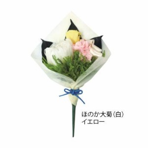 プリザーブドフラワー(仏花) ほのか 大菊白 イエロー C20630