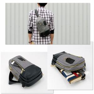 2層式 ボディバッグ バッグ BAG かばん 鞄 メンズ men's レディース lady's