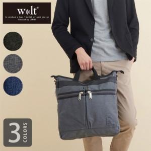 ビジネスバッグ メンズ 3way リュック ショルダー ハンドバッグ 軽量 ナイロン A4 3way 通勤 通学 多収納 walt(ウォルト)