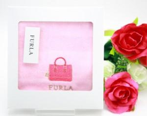 ハンカチ ハンドタオル ギフト レディース ブランド フルラ FURLA 花びらカット 女性 誕生日プレゼント お礼 お返し お祝い