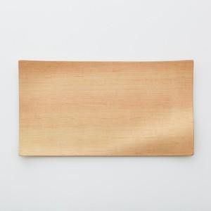 Gold Craft 木製プレート【KAZE NO UTSUWA】L