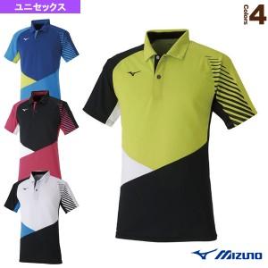 [ミズノ テニス・バドミントン ウェア(メンズ/ユニ)]ゲームシャツ/ユニセックス(62JA0014)