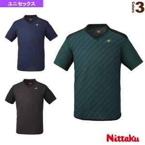 [ニッタク 卓球 ウェア(メンズ/ユニ)]スライプシャツ/ユニセックス(NW-2198)