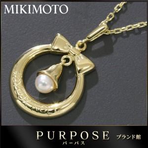 ミキモト MIKIMOTO ベビーパール ネックレス 38cm K18YG レディーズ 【中古】 【中古】BJ