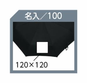 ミニ傘 大寸ミニ傘軽量タイプ 271 A/黒 名入れOK(別料金)