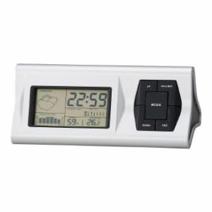 温湿度計/ウェザー ウェザークロック ステーション 6132  名入れOK(別料金)