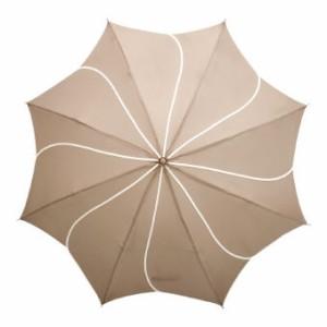 晴雨兼用傘 晴雨兼用折傘 1874 C/ベージュ 名入れOK(別料金)