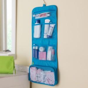 トラベル用ポーチ 化粧品収納 吊り下げ可能 収納バッグ 洗面用具 収納 バッグ 送料無料 ゆうメール便 代引き不可