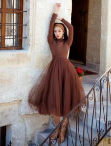 ae21b7cec08e2 ドレス 通販 韓国 ワンピース 無地 チュールスカート 40代 30代 20代 50代 結婚式 二次会 食事会 発表会 お呼ばれ
