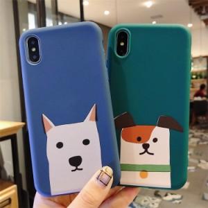6e3350979b iPhone Xs Max iPhone8 iPhone7 iPhone6s iPhoneX カバーアイフォンXs マックス スマホケース かわいい  おしゃれ 動物 犬