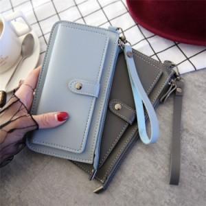 9755139b1529 長財布 薄型 レディース 大容量 薄手 小銭入れが大きい長財布 かわいい おしゃれ 軽量