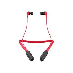 【送料無料】レッド Bluetooth ネックバンド式カナル型ワイヤレスイヤホン INKD WIRELESS 【国内正規品】 AAV-44b