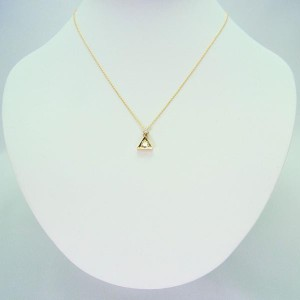K18 ダイヤモンド ペンダント[977-4]