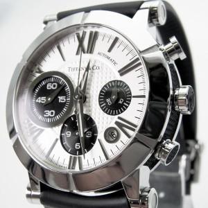 【中古】ティファニー/TIFFANY アトラス Z1000.82.12A21A71A クロノ 自動巻 腕時計[t2]