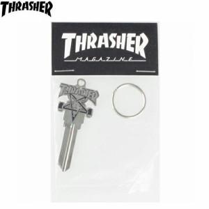 スラッシャー THRASHER キーホルダー  USモデル Skate Goat Key 6cm x 2.5cm NO04