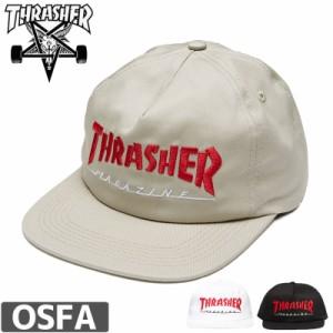 スラッシャー CAP THRASHER メッシュ キャップ US規格 MAGAZINE TWO-TONE 2カラー NO32