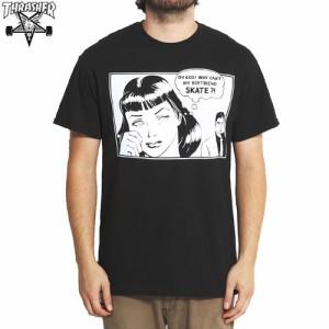 スラッシャー THRASHER スケボー Tシャツ US規格 THRASHER BOYFRIEND TEE ブラック NO53