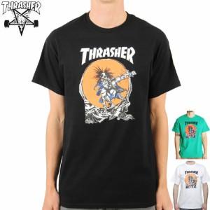 スラッシャー THRASHER スケボー Tシャツ US規格 SK8 OUTLAW TEE 3カラー NO12