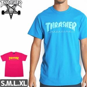 スラッシャー THRASHER スケボー Tシャツ MAGAZINE LOGO TEE NO91