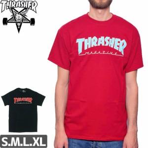 スラッシャー THRASHER スケボー Tシャツ OUTLINE TEE NO92