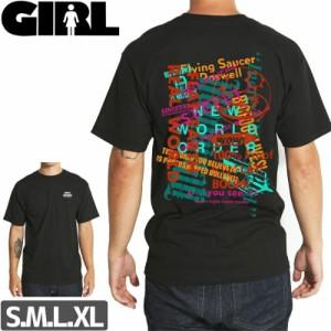 スケボー Tシャツ GIRL ガール STAY INSIDE TEE NO290