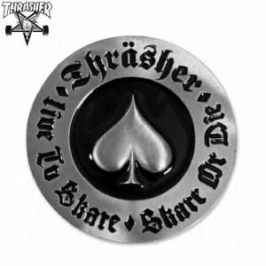 スラッシャー THRASHER スケボー バックル THRASHER OATH BELT BUCKLE シルバー NO2