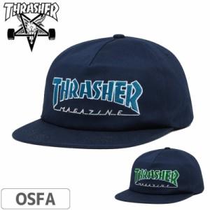 スラッシャー THRASHER キャップ OUTLINED SNAPBACK CAP NO44