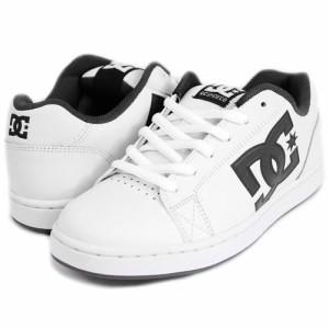【DC ディーシー スケートボード シューズ】SERIAL オール レザー【ホワイト x ブラック】NO22