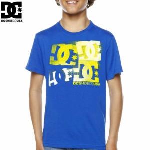 DC ディーシーシューズ ユース Tシャツ THERAPY BIG YOUTH TEE ロイヤル ブルー NO15